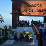 El Mirador de las 100 gradas es uno de los atractivos de Alegría. foto EDH / Carlos Segovia