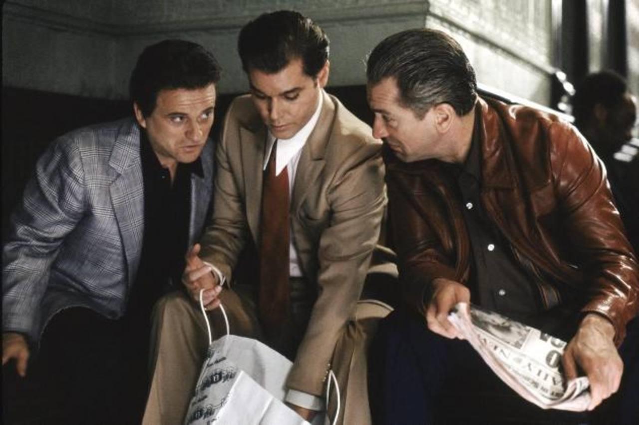 Goodfellas reunió a un elenco de lujo como Robert de Niro, Joe Pesci, Ray Liotta, bajo la dirección de Scorsese.