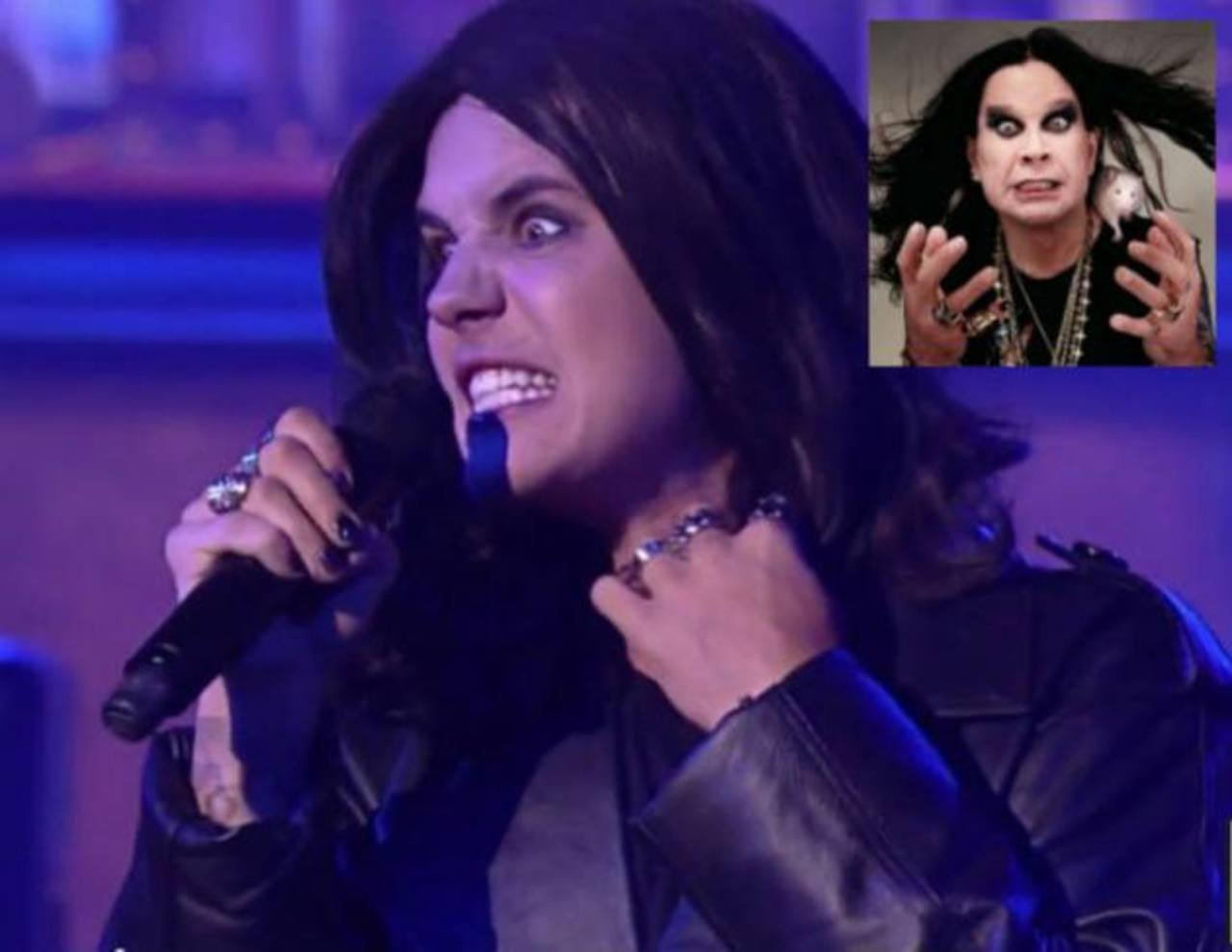 VIDEO: Justin Bieber imita al metalero Ozzy Osbourne