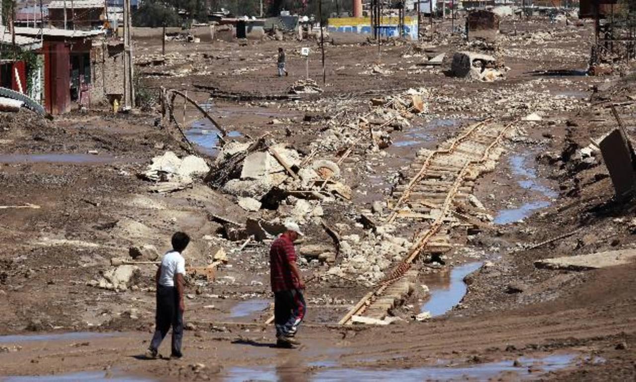 Chile: 12 muertos por inundaciones