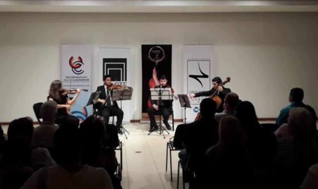 El cuarteto volverá a deleitar al público en el salón Ernesto Álvarez Córdova, del Museo Marte. Foto / Cortesía