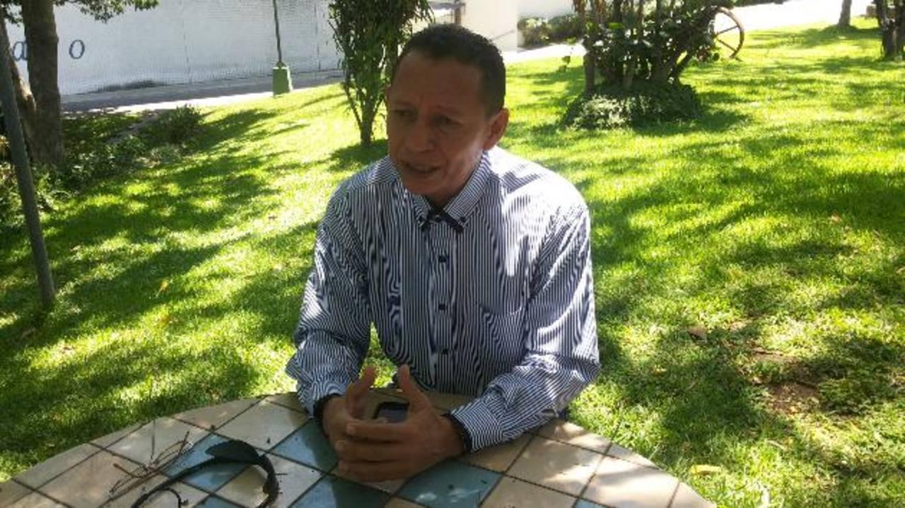 Miguel Coreas, alcalde electo por el partido ARENA, se propone trabajar por el desarrollo del municipio. Foto EDH / Violeta Rivas