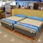 La exclusiva línea de camas está disponible a precios atractivos en las sucursales de La Curacao. Foto EDH / David Rezzio