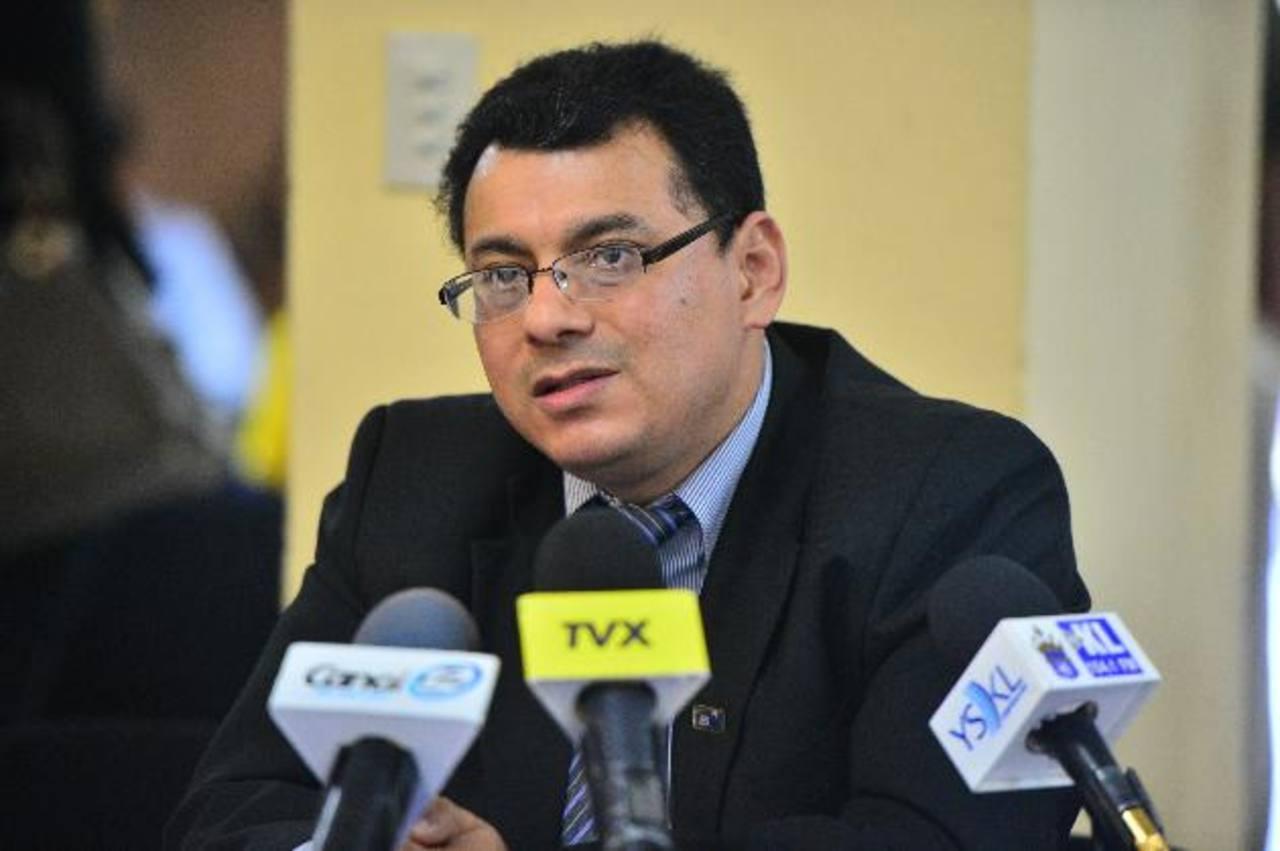 """El presidente del TSE dijo ayer que la sentencia de la Sala de lo Constitucional debe """"inaplicarse"""". foto edh /ARCHIVO"""