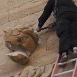VIDEO: Estado Islámico destruye milenarias estatuas en ciudad iraquí de Hatra