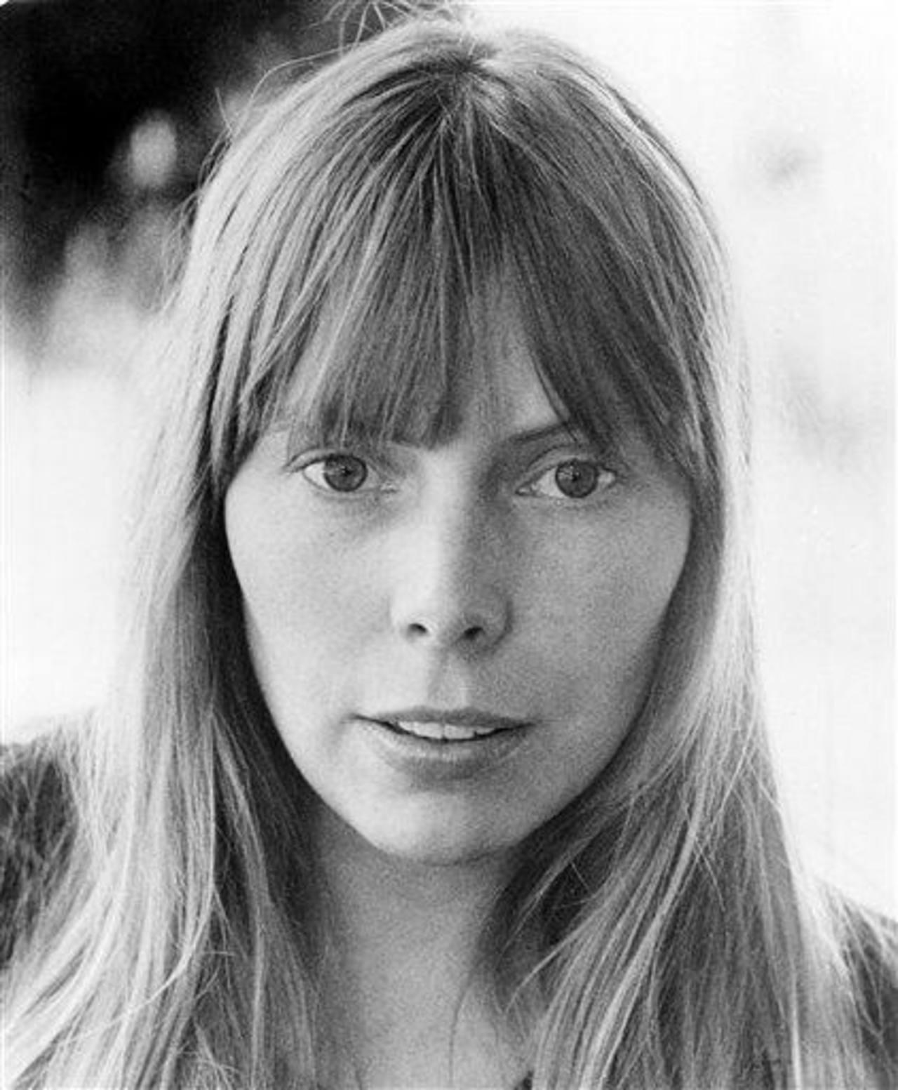 La intérprete de Woodstock en una foto de 1972.