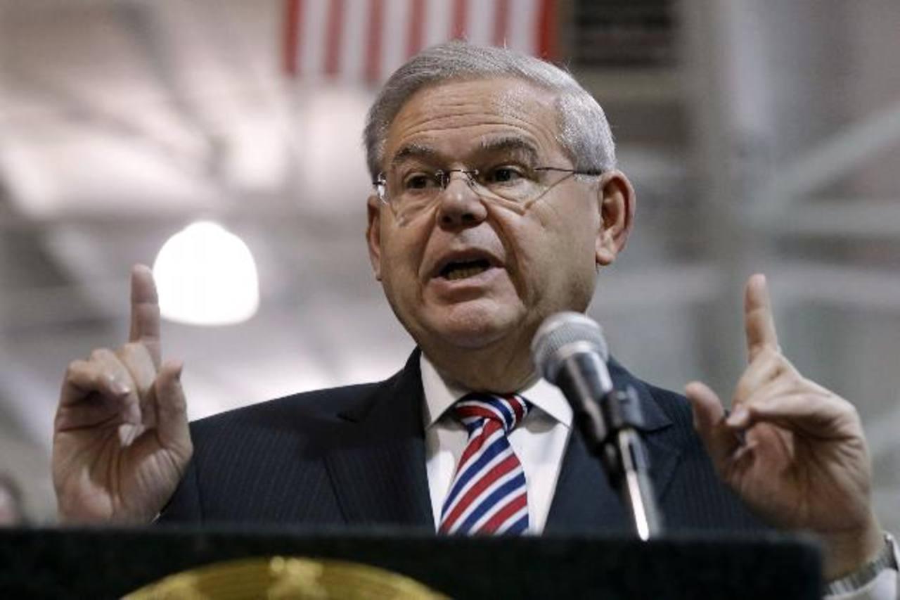 Bob Menéndez es el demócrata de mayor rango en el Comité de Relaciones Exteriores del Senado. Foto EDH / internet
