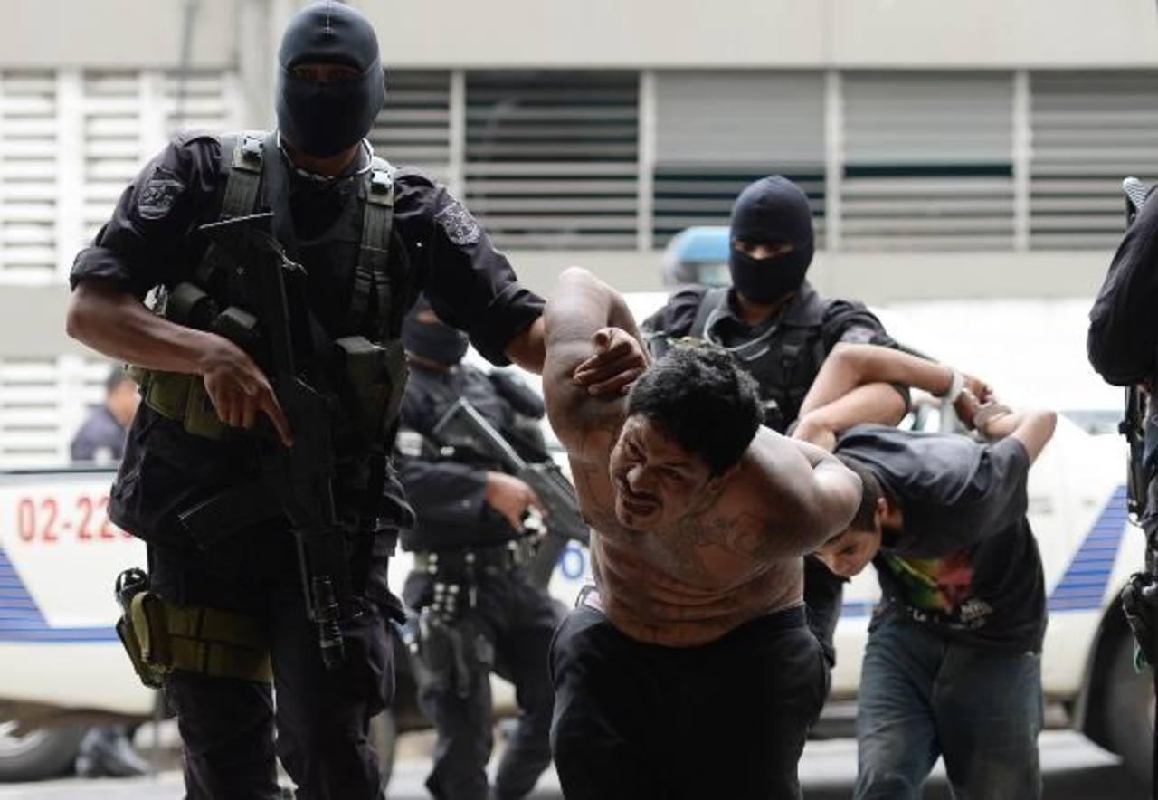 Salvador Méndez fue detenido ayer. Foto EDH / Huber Rosales