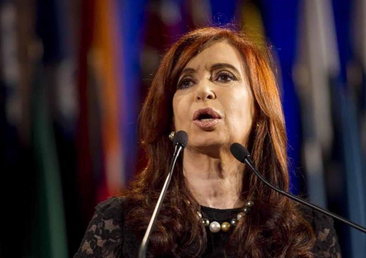 La presidenta argentina, Cristina Fernández de Kirchner, afronta un escándalo político sin precedentes tras la muerte del fiscal Alberto Nisman. foto edh / archivo