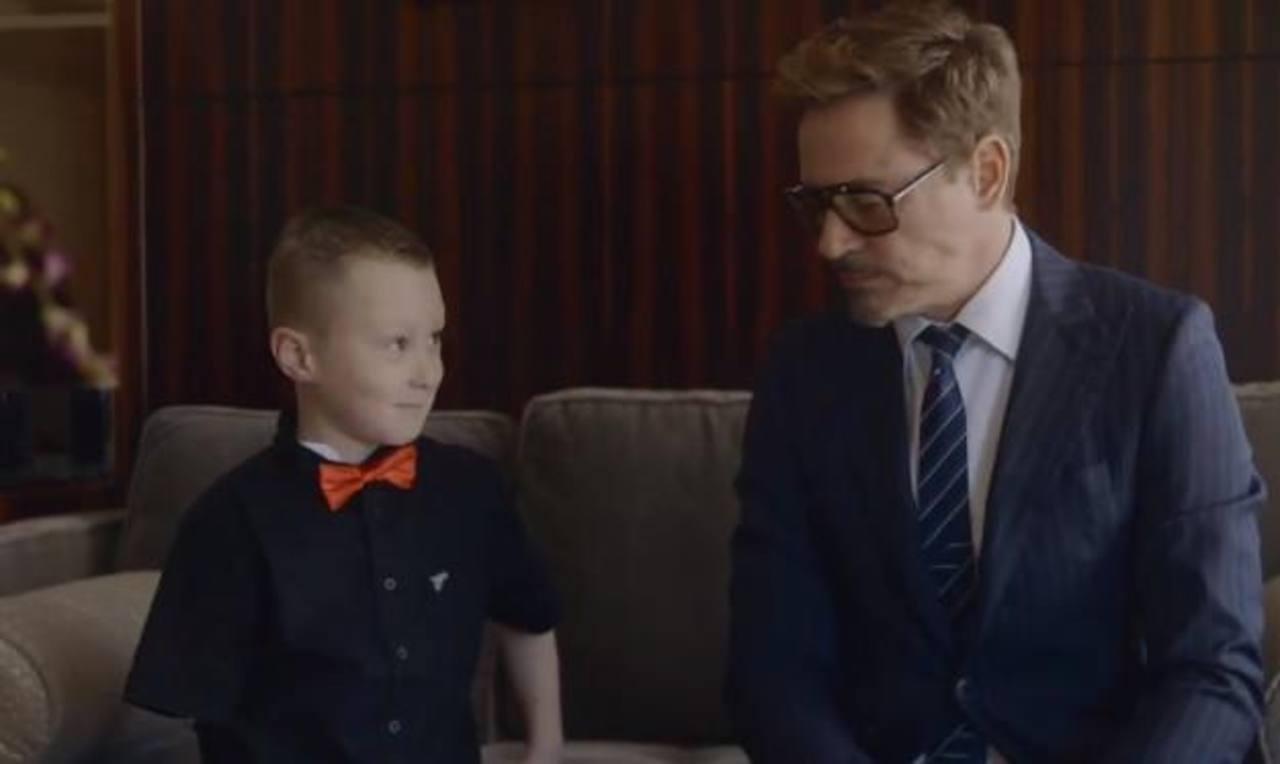 Video: El mejor regalo de Iron Man para un niño