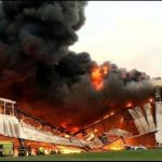 Incendio en Louisville, Estados Unidos. /