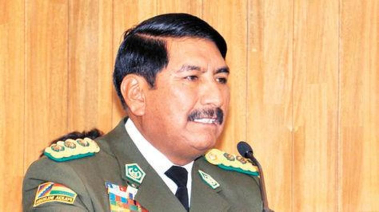 El excomandante Óscar Nina, investigado por vínculos con el narcotráfico. foto edh / tomada de http://eju.tv/