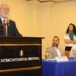 """El Dr. Rodrigo Brito, presidente-director del Hospital de Diagnóstico, habló sobre el proyecto y la campaña """"En abril todos temblamos"""". Foto / Lissette Monterrosa"""