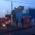 Escena de doble homicidio en bulevar Arturo Castellanos. /