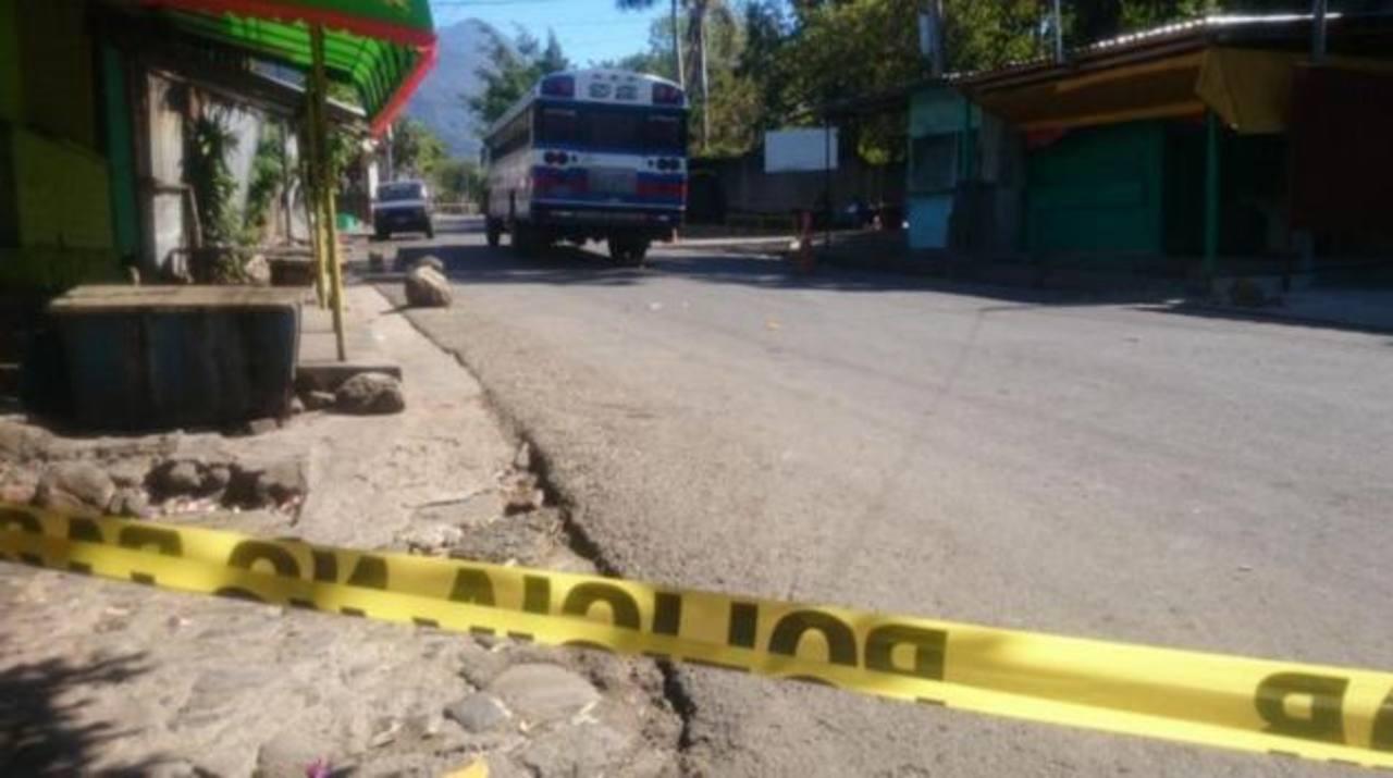 Un motorista de la ruta 92 fue asesinado en Zacatecoluca.