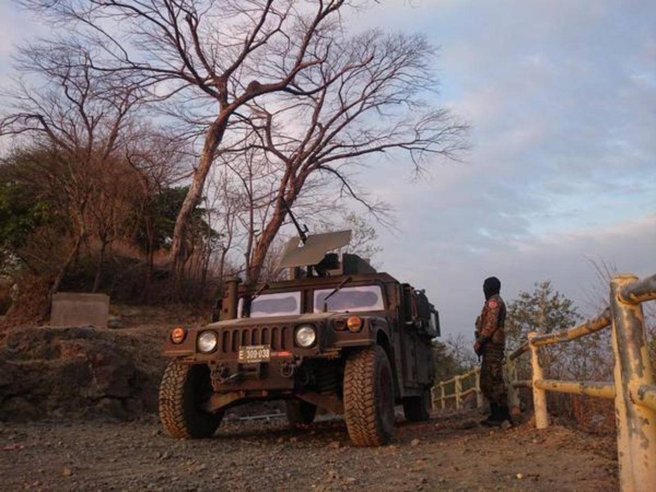 Panchimalco militarizado tras asesinato de un seguridad del Presidente