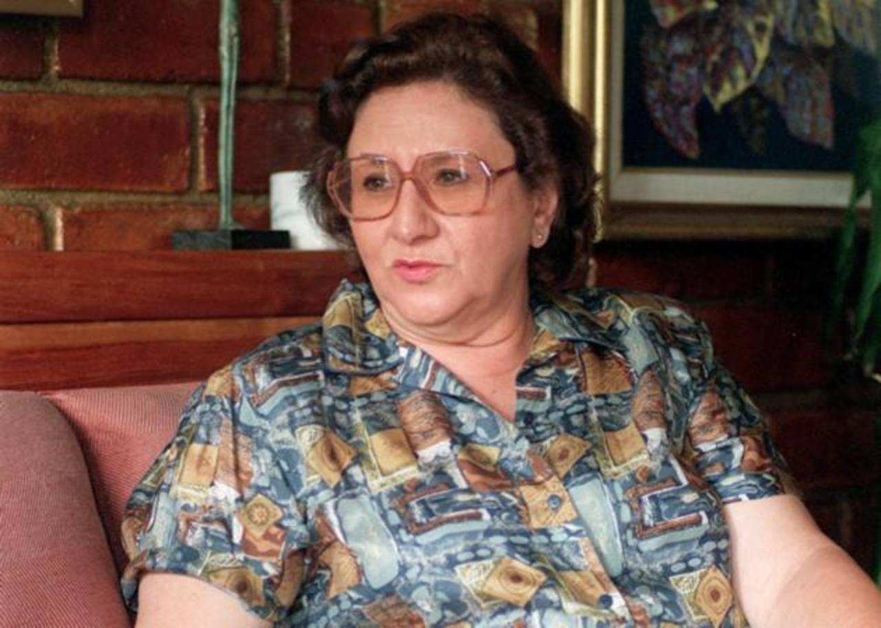 María de Kahn nació en noviembre de 1941. foto edh / archivo
