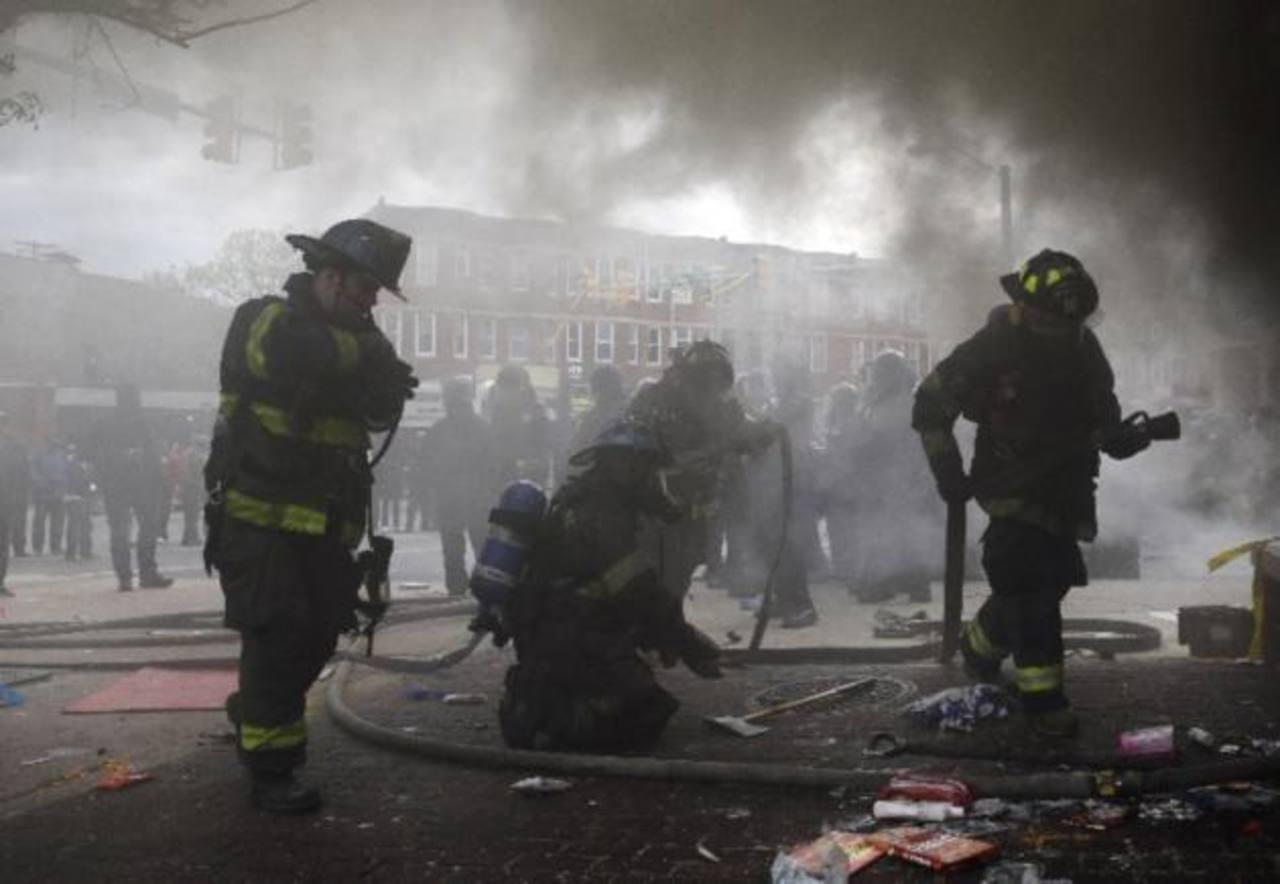 VIDEO: Declaran el estado de emergencia en Baltimore por protestas contra la Policía