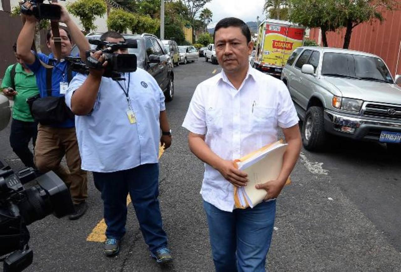 Will Salgado solicitaba la nulidad de elecciones en la ciudad de San Miguel. foto edh / Archivo