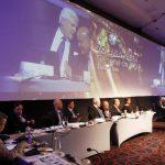 La pasada Asamblea General de la SIP se realizó en Santiago de Chile. La de este año será en Panamá. Foto EDH / Archivo