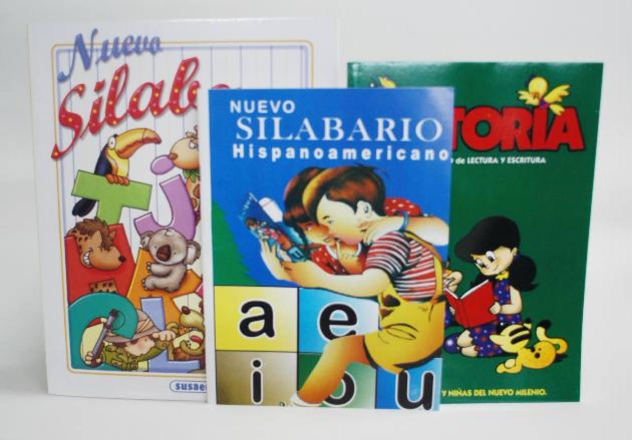 Fotos: 6 libros con los que los salvadoreños aprendieron a leer y escribir