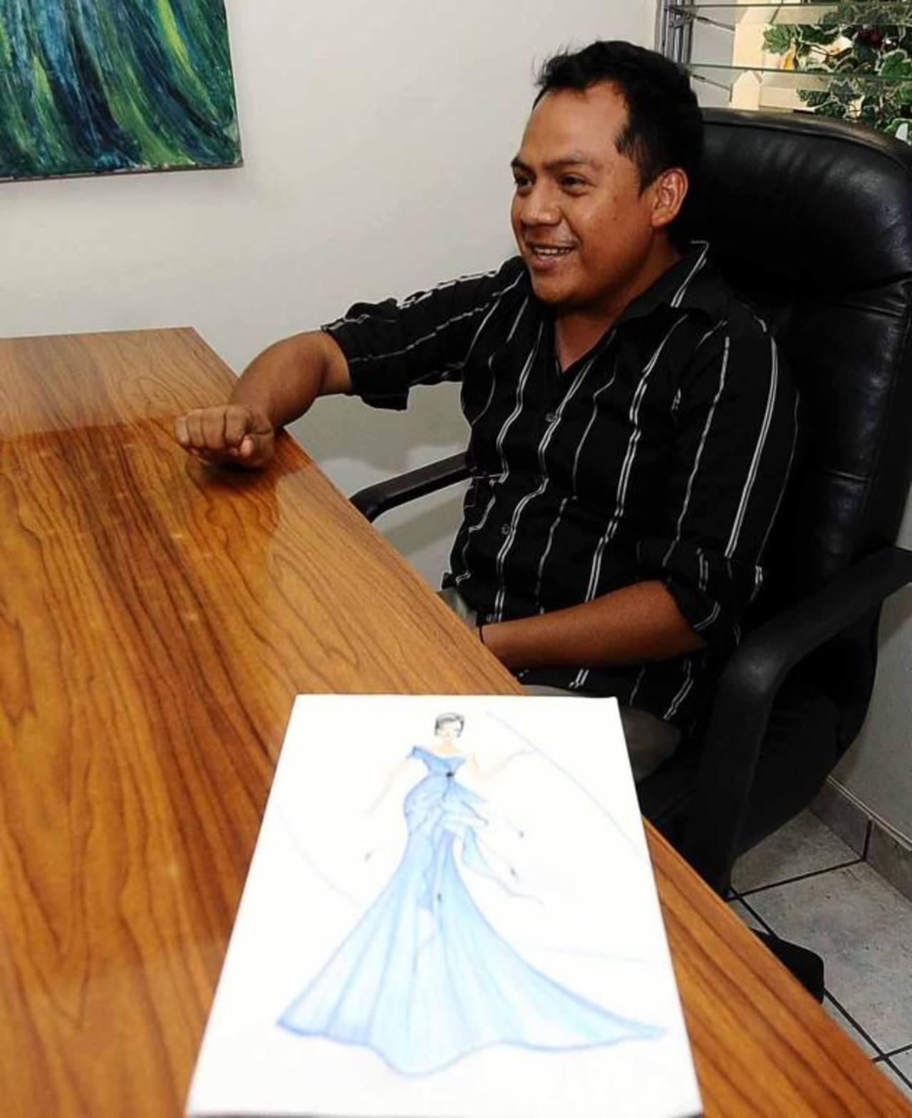 Su talento lo llevó a trabajar con marcas de renombre en el país. Ahora, García inicia la travesía de su negocio. Foto EDH/archivo