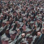 Militares venezolanos ayer durante un ejercicio militar en Caracas ordenado por el presidente chavista Nicolás Maduro, en respuesta a las sanciones impuestas por Estados Unidos. foto edh / EFE