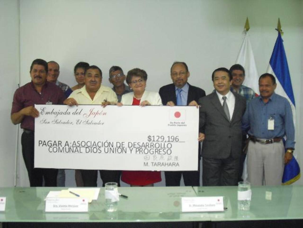 La cooperación japonesa apoya a las comunidades. Foto EDH