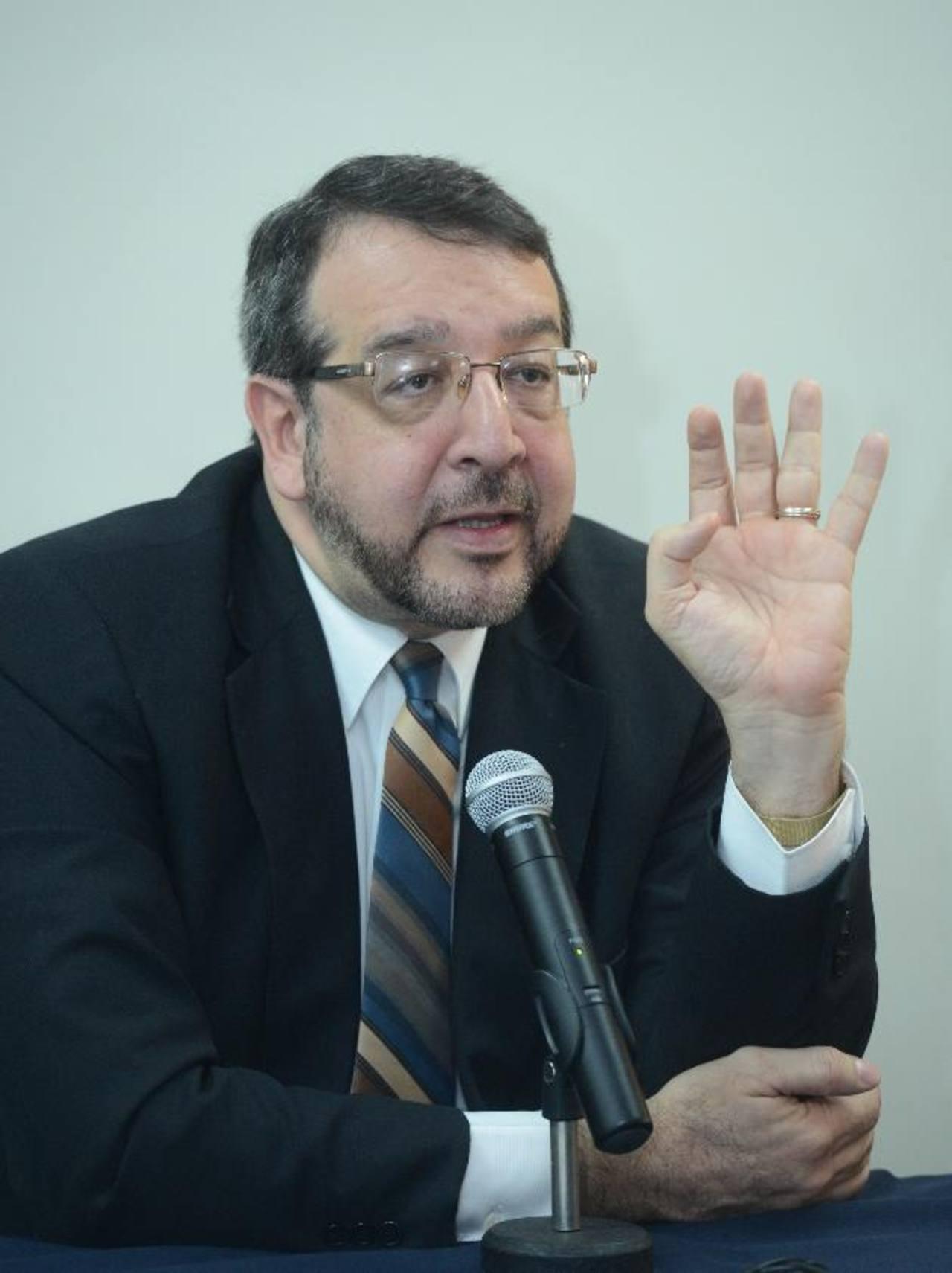 El director de Medicina Legal, José Miguel Fortín, sostiene que los homicidios de mujeres impactan más a la sociedad.