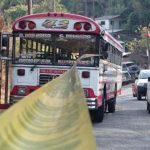Matan a motorista de bus ruta 43 en Ciudad Delgado