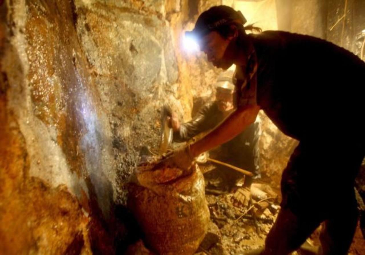 Honduras exporta oro, plata, plomo y óxido de hierro, entre otros. Foto EDH