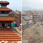 FOTOS: Nepal, antes y después de los monumentos históricos tras terremoto