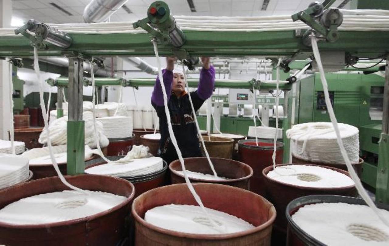 La fábrica coreana producirá hilos de algodón.