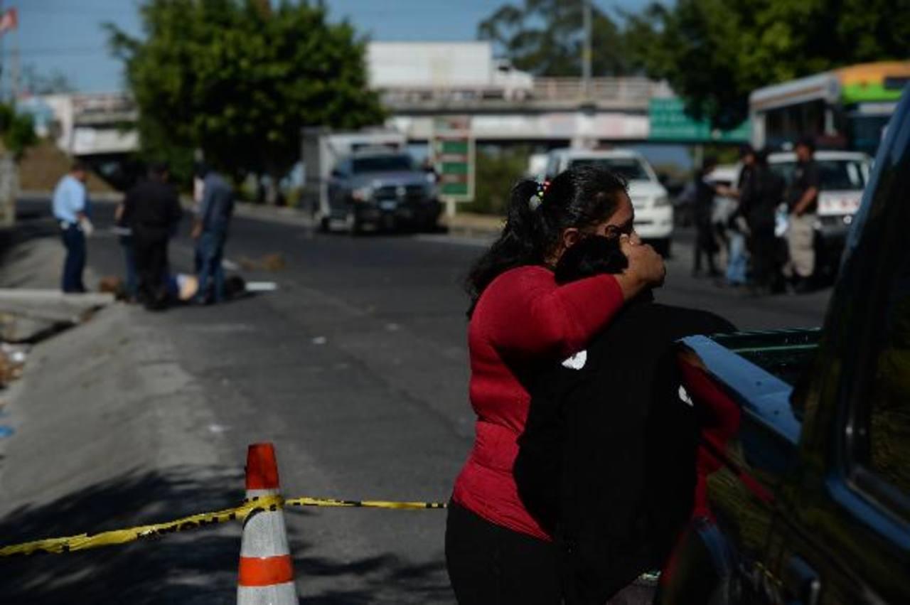 José Cano, motorista de Ruta 140, fue asesinado en San Martín cuando iba a trabajar. Su familia dijo que un compañero lo había amenazado. Foto EDH / Jaime Anaya.