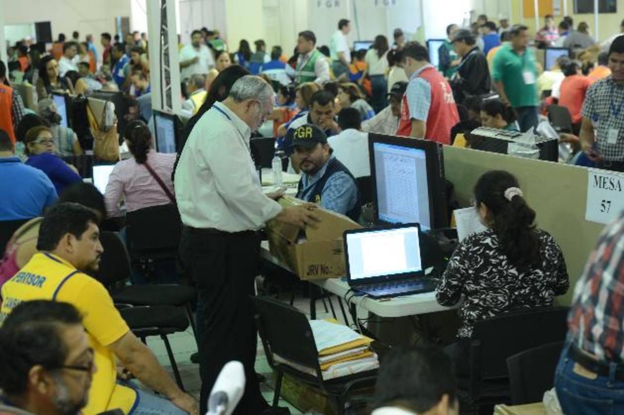 TSE pide a CSJ 24 días más para contar votos
