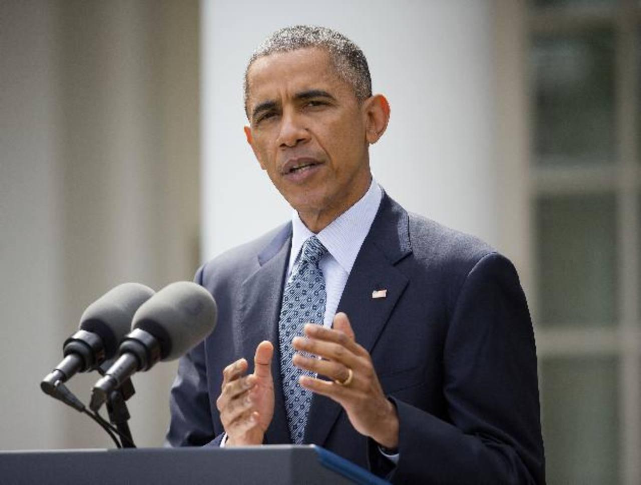 Obama: Acuerdo nuclear con Irán es una oportunidad única