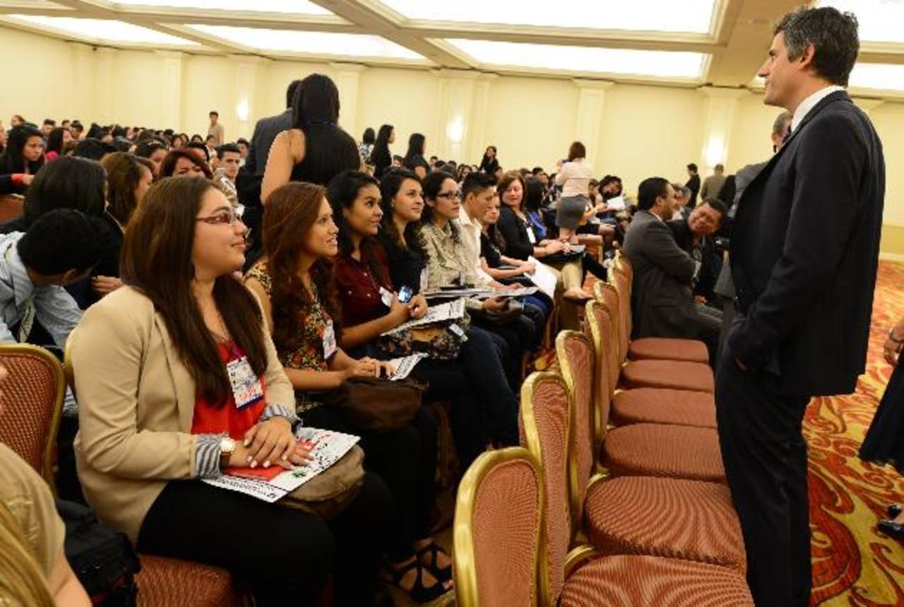 Carlos Calleja, presidente de Grupo Calleja, fue unos de los invitados especiales del evento. Foto EDH / Mauricio Cáceres