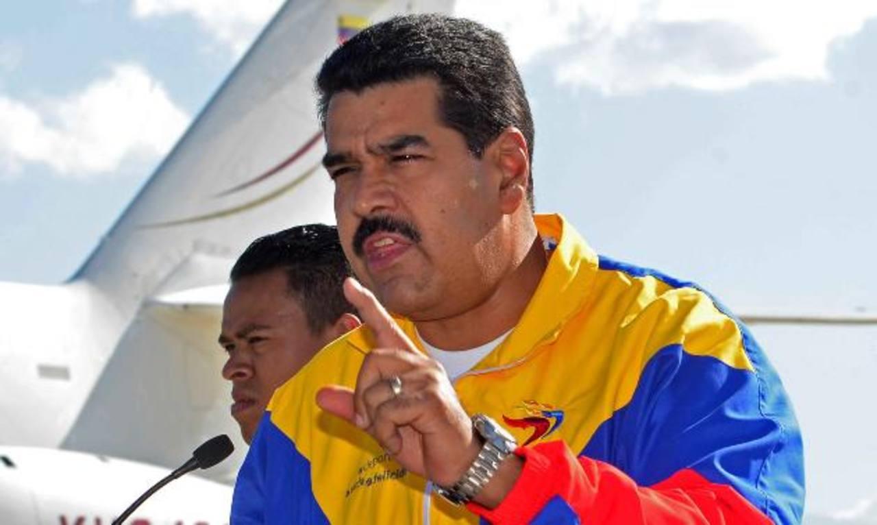 El 19 de abril de 2013 es nombrado gobernante electo Nicolás Maduro. Foto EDH / archivo