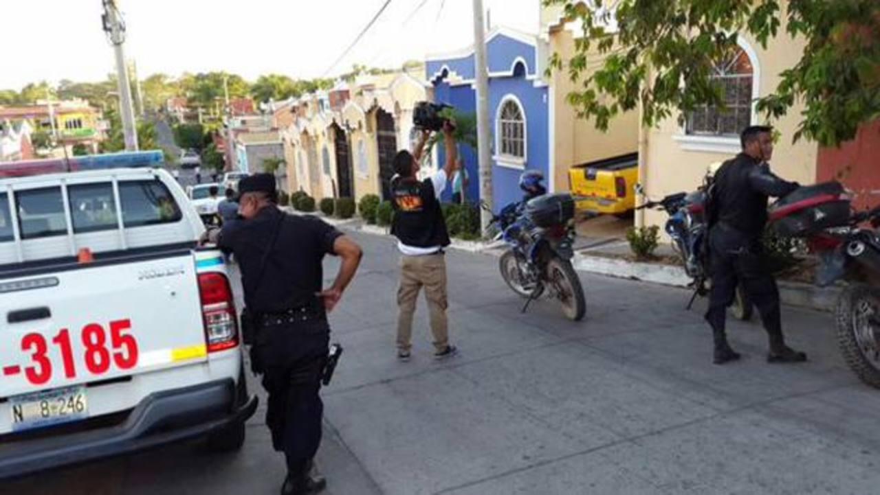 Un hombre fue privado de libertad ayer en Lolotique, San Miguel. Foto EDH / Cortesía TVOriente