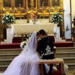 Anahí y el gobernador de Chiapas, Manuel Velasco, se casaron hoy