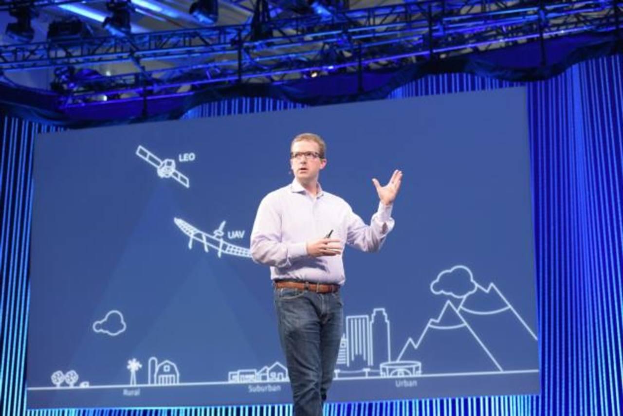Mike Schroepfer, director general de tecnología de la red social, durante la conferencia anual de desarrolladores de Facebook. foto