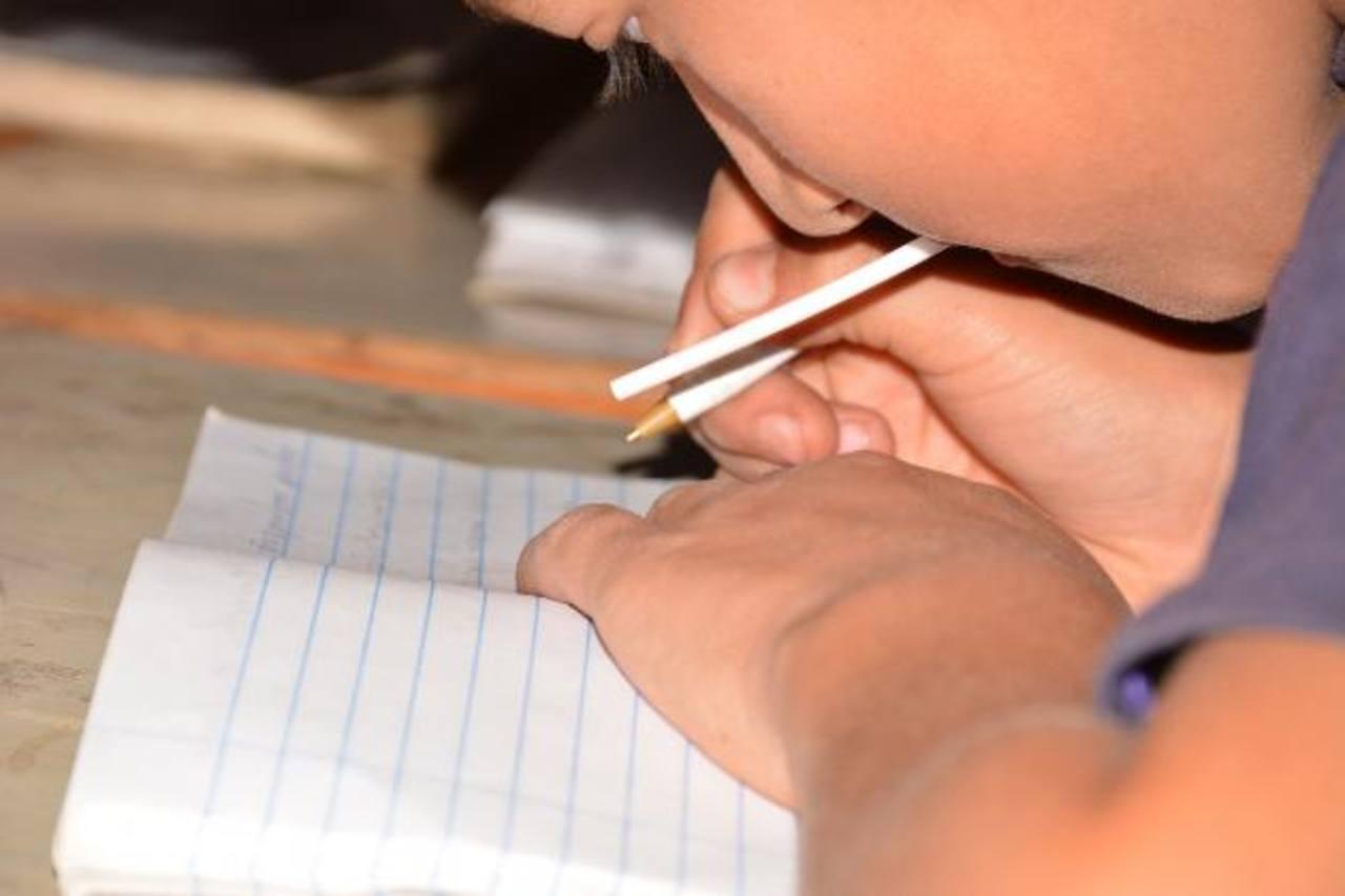 Cada estudiante que participe en el programa tendrá grupos de cinco o seis personas en su círculo de enseñanza. Foto EDH / Cristian Díaz