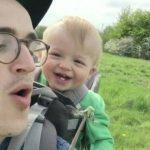 VIDEO: Bebé te contagiará con su risa