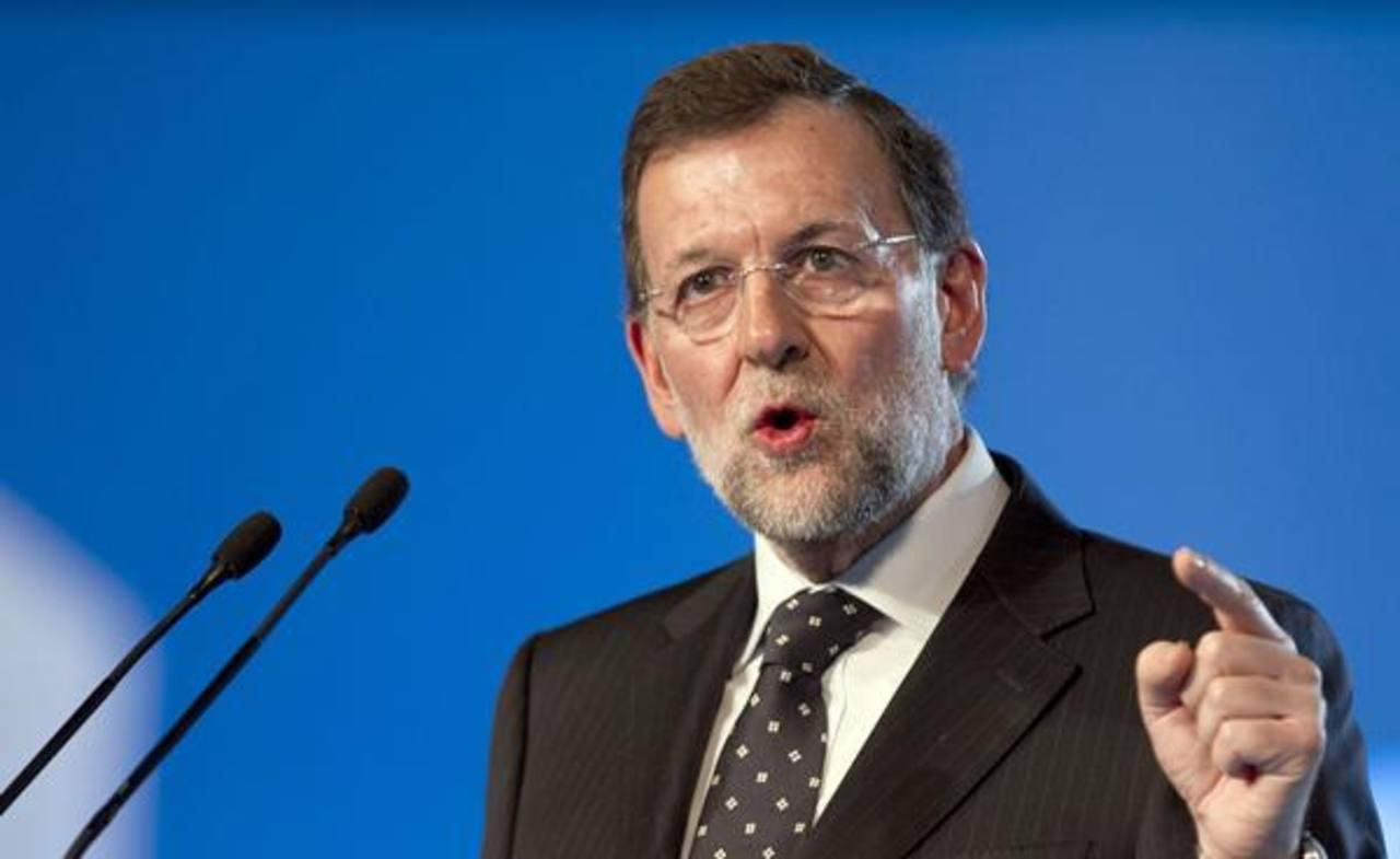 El presidente del Gobierno español, Mariano Rajoy. Foto EDH / Archivo