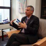 El diplomático manifestó que su país continúa con su plan de cooperación y apoyo para El Salvador. Foto EDH/Cortesía
