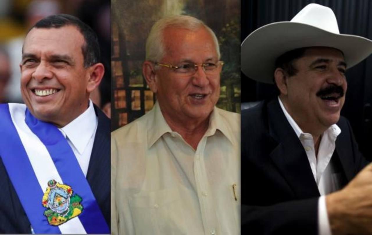 Expresidentes hondureños: Porfirio Lobo, Roberto Micheletti y Manuel Zelaya serían beneficiados con el fallo. Foto EDH /archivo