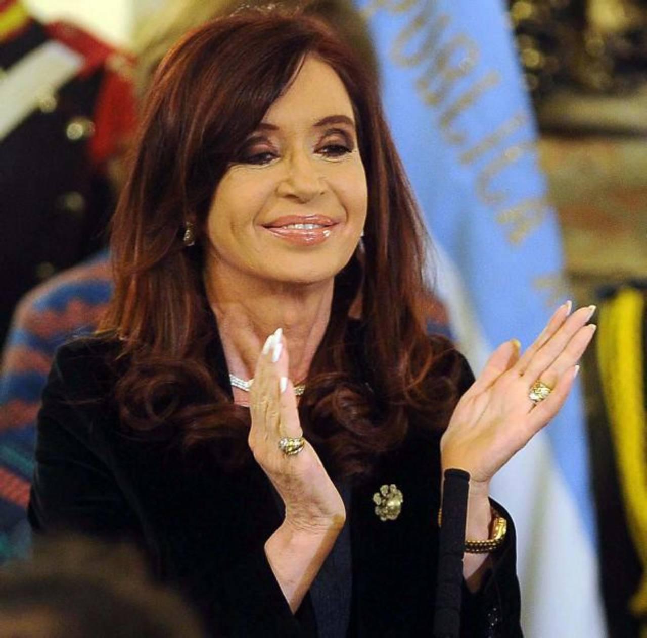 """Según la fiscalía, """"no hubo delito alguno"""", por parte de la presidenta argentina, Cristina Fernández. foto edh / internet"""