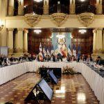 Durante la cumbre estuvieron reunidos los jefes de Estado de Centroamérica con Mariano Rajoy. FOTO EDH /ARCHIVO