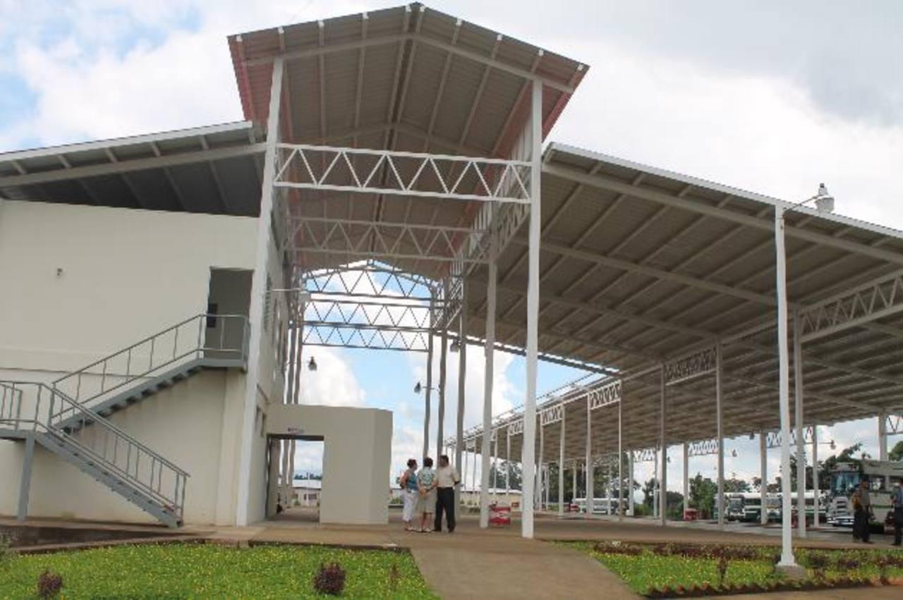 Así estaban las instalaciones en 2012, cuando por pocos días, unidades de transporte la usaron. El VMT advirtió que sancionaría a quien la use.