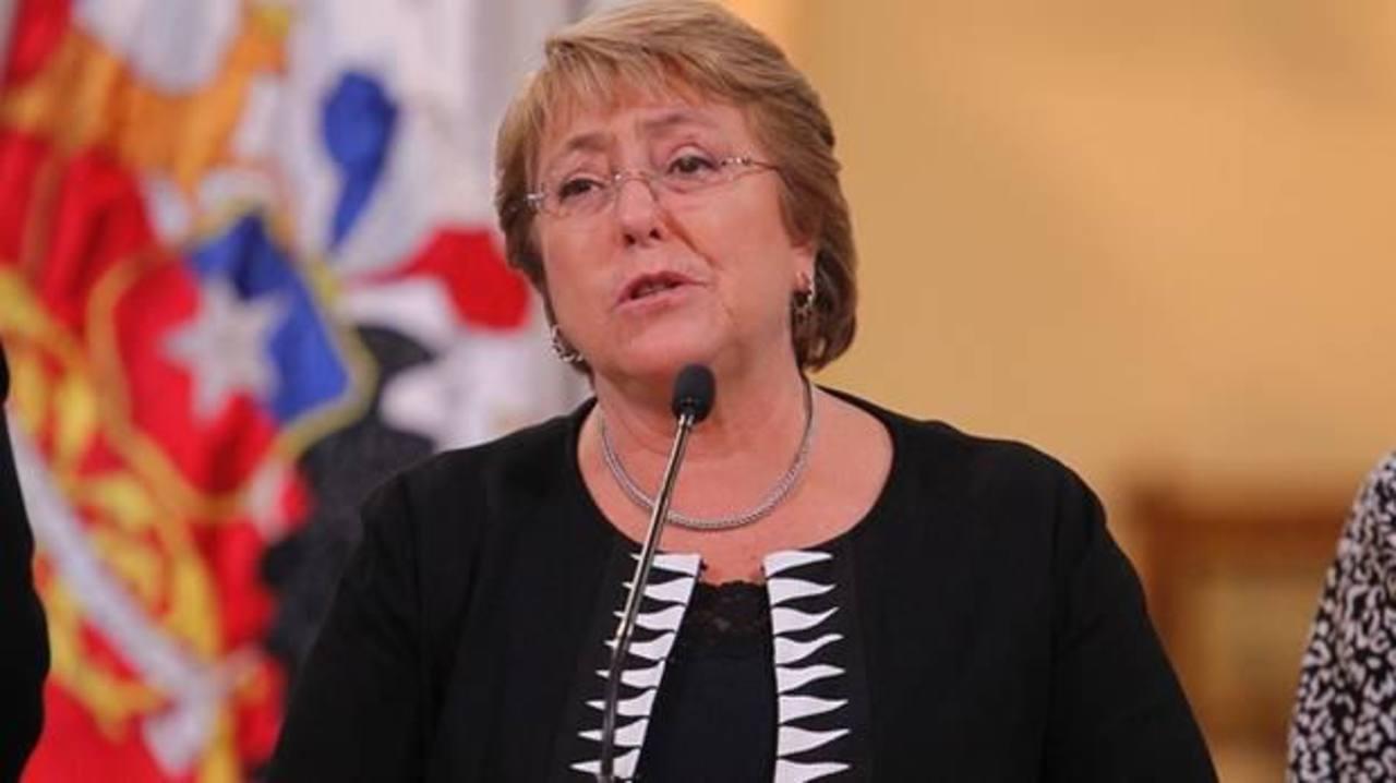 Michelle Bachelet, gobernante chilena.